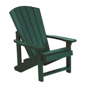 C.R. Plastic Products Adirondack - Green Kid's Adirondack Chair
