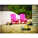 C.R. Plastic Products Adirondack - Orange Kid's Adirondack Chair