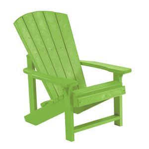 C.R. Plastic Products Adirondack - Kiwi Kid's Adirondack Chair