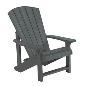 C.R. Plastic Products Adirondack - Slate Kid's Adirondack Chair