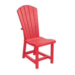 C.R. Plastic Products Adirondack - Red Addy Dining Side Chair