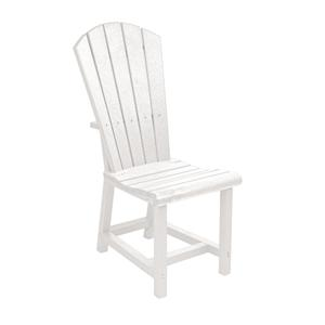 C.R. Plastic Products Adirondack - White Addy Dining Side Chair