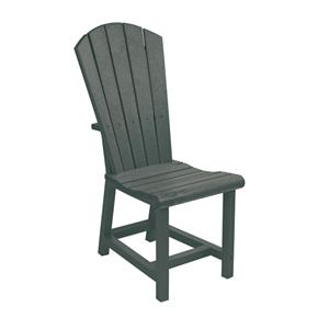C.R. Plastic Products Adirondack - Slate Addy Dining Side Chair