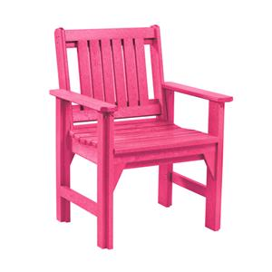 C.R. Plastic Products Adirondack - Fuschia Dining Arm Chair