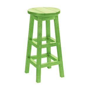 C.R. Plastic Products Adirondack - Kiwi Bar Stool