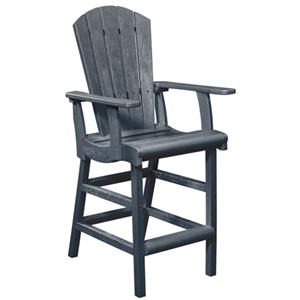 C.R. Plastic Products Generation Line Pub Chair