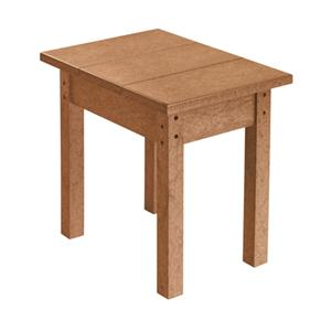 C.R. Plastic Products Adirondack - Cedar Small Table