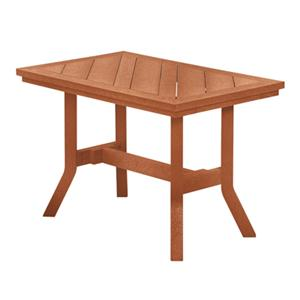 C.R. Plastic Products Adirondack - Cedar Addy End Table