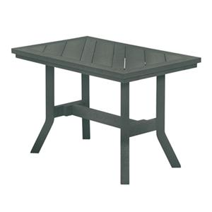 C.R. Plastic Products Adirondack - Slate Addy End Table