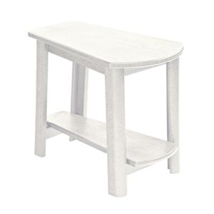C.R. Plastic Products Adirondack - White Addy Side Table