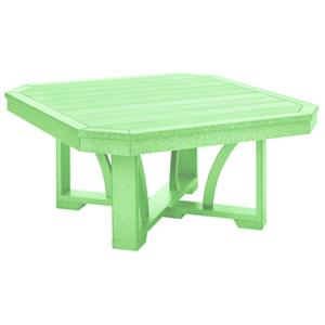 C.R. Plastic Products St Tropez Square Cocktail Table