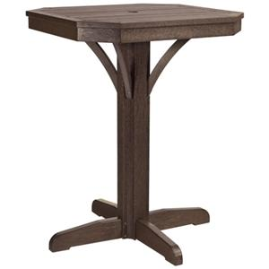 """28"""" Square Counter Table"""