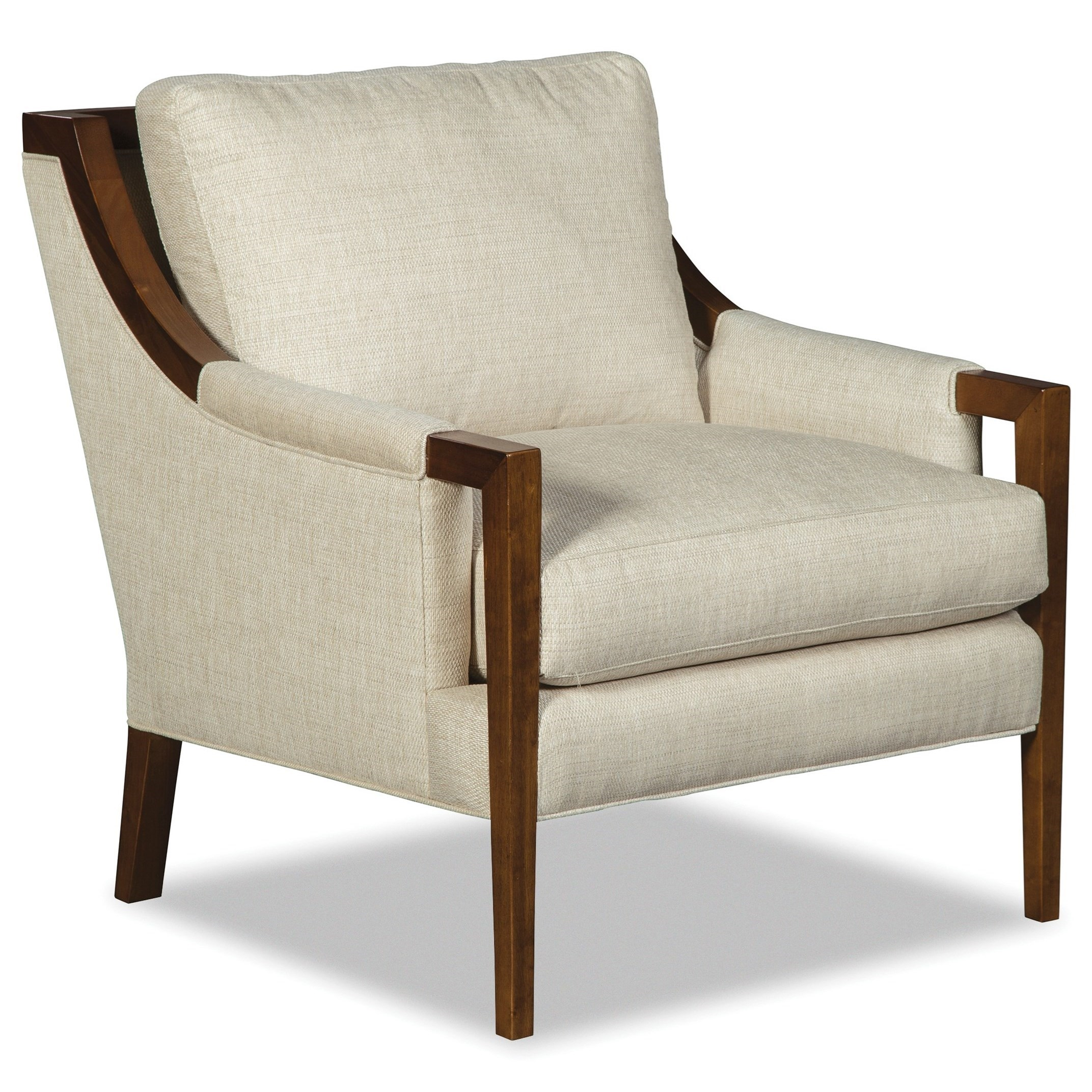 002910BD Wood Accent Chair by Hickory Craft at Godby Home Furnishings