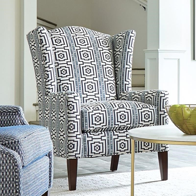 032410 Wing Chair by Craftmaster at Belfort Furniture