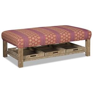 Craftmaster 034800 Storage Ottoman