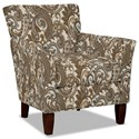 Hickory Craft 060110 Accent Chair - Item Number: 060110-AMARENA-03