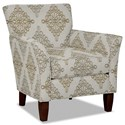 Hickory Craft 060110 Accent Chair - Item Number: 060110-ASLEN-10
