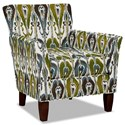 Hickory Craft 060110 Accent Chair - Item Number: 060110-BANDILINO-15