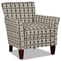 Hickory Craft 060110 Accent Chair - Item Number: 060110-BLAST-08