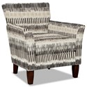 Hickory Craft 060110 Accent Chair - Item Number: 060110-CARAVAN-10