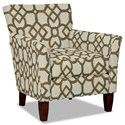 Craftmaster 060110 Accent Chair - Item Number: 060110-CARREAU-07
