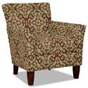 Hickory Craft 060110 Accent Chair - Item Number: 060110-CENTINELA-26