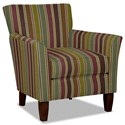 Hickory Craft 060110 Accent Chair - Item Number: 060110-CRAZYHORSE-28