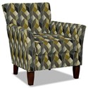 Hickory Craft 060110 Accent Chair - Item Number: 060110-CUBIST-45
