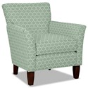 Hickory Craft 060110 Accent Chair - Item Number: 060110-CURVY-21