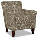 Hickory Craft 060110 Accent Chair - Item Number: 060110-DELMONICO-08