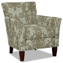 Hickory Craft 060110 Accent Chair - Item Number: 060110-DEMURE-21