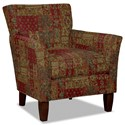 Hickory Craft 060110 Accent Chair - Item Number: 060110-DOMARI-26