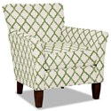 Hickory Craft 060110 Accent Chair - Item Number: 060110-ENHANCE-15