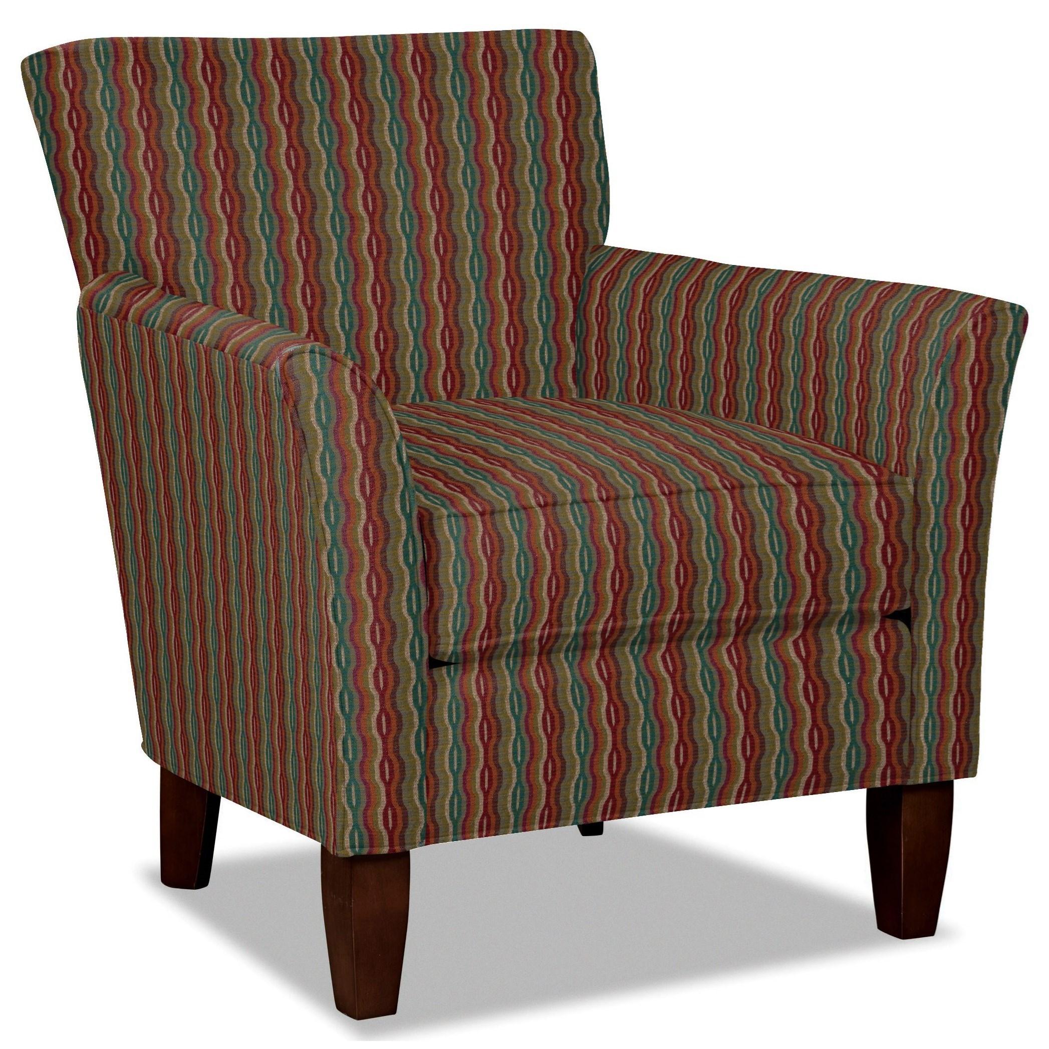 Craftmaster 060110 Accent Chair - Item Number: 060110-FIBEROPTIC-25