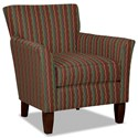 Hickory Craft 060110 Accent Chair - Item Number: 060110-FIBEROPTIC-25