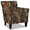 Hickory Craft 060110 Accent Chair - Item Number: 060110-FLAMBOYANT-25