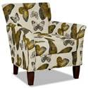 Craftmaster 060110 Accent Chair - Item Number: 060110-FLUTTERFLY-02