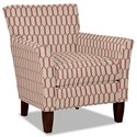 Hickory Craft 060110 Accent Chair - Item Number: 060110-FROU FROU-26