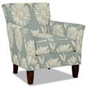 Craftmaster 060110 Accent Chair - Item Number: 060110-GERBERA-21
