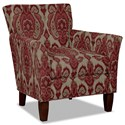 Hickorycraft 060110 Accent Chair - Item Number: 060110-GOYITO-26