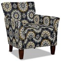 Hickory Craft 060110 Accent Chair - Item Number: 060110-ISMA-45