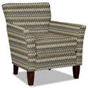 Hickory Craft 060110 Accent Chair - Item Number: 060110-JABOT-41