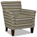 Hickorycraft 060110 Accent Chair - Item Number: 060110-JABOT-41