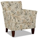 Hickory Craft 060110 Accent Chair - Item Number: 060110-JARVIS-10