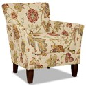Craftmaster 060110 Accent Chair - Item Number: 060110-JUBILANT-02