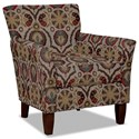 Hickory Craft 060110 Accent Chair - Item Number: 060110-KITSUNE-10