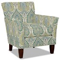 Hickory Craft 060110 Accent Chair - Item Number: 060110-LATIKA-15