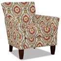 Hickorycraft 060110 Accent Chair - Item Number: 060110-LIAM-37