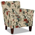 Hickorycraft 060110 Accent Chair - Item Number: 060110-LIANA-26