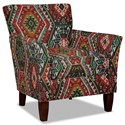 Craftmaster 060110 Accent Chair - Item Number: 060110-LONGROCK-23